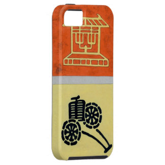 Vintage Teahouse iPhone SE/5/5s Case