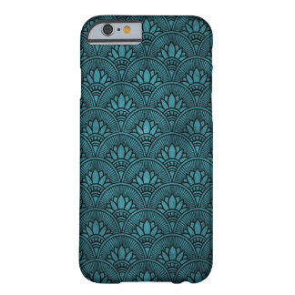 Vintage Teal Art Deco iPhone 6 Case