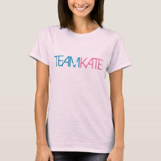"VINTAGE ""TEAM KATE"" 8 LOGO Retro Fitted Shirt"
