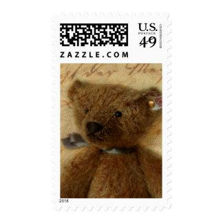Vintage Ted Postage Stamp