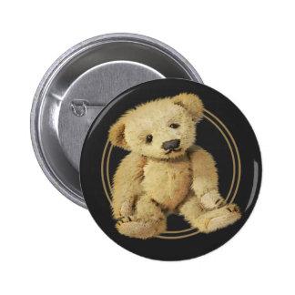 Vintage Teddy Bear 2 Inch Round Button