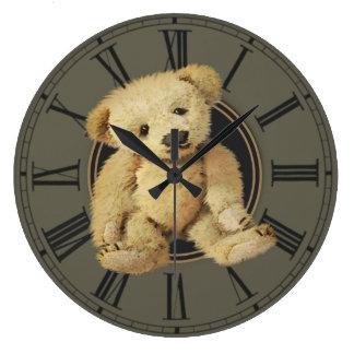 Vintage Teddy Bear Clocks