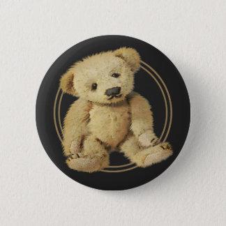 Vintage Teddy Bear Pinback Button
