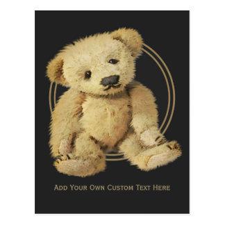 Vintage Teddy Bear Postcard