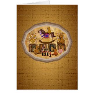 Vintage Teddy Bears Card