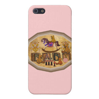 Vintage Teddy Bears iPhone SE/5/5s Cover