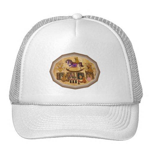 Vintage Teddy Bears Mesh Hats