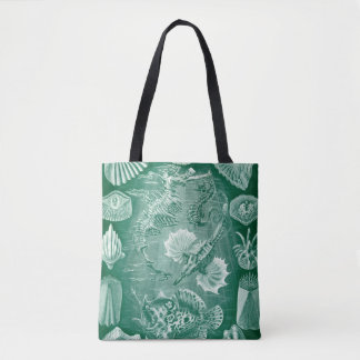Vintage Teleostei Fish and Shells by Ernst Haeckel Tote Bag
