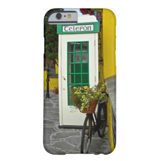 Vintage telephone booth and bicycle in Ireland Barely There iPhone 6 Case