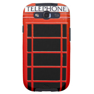 Vintage Telephone Booth Samsung Galaxy SIII Cases