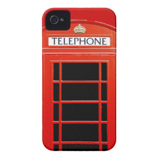 Vintage Telephone Booth iPhone 4 Case-Mate Cases