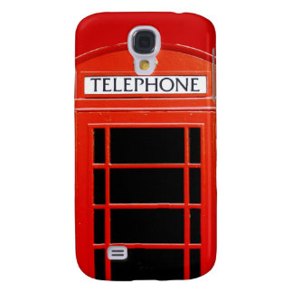 Vintage Telephone Booth Galaxy S4 Case
