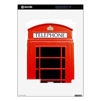 Vintage Telephone Booth iPad 2 Decal