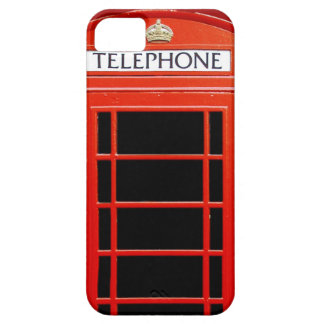 Vintage Telephone Booth iPhone 5 Cases