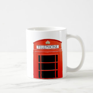 Vintage Telephone Booth Coffee Mug