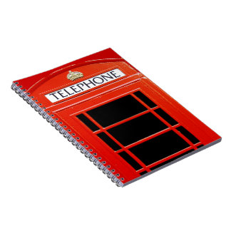 Vintage Telephone Booth Note Books