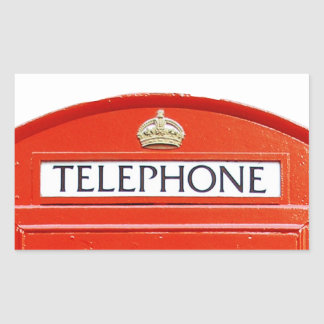Vintage Telephone Booth Stickers