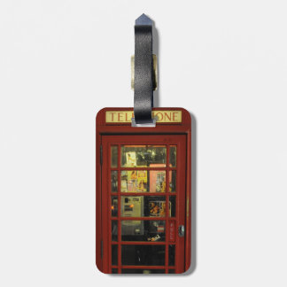 Vintage Telephone box Tag For Luggage