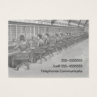 Vintage Telephone Central Business Card