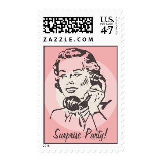 Vintage Telephone Chat Postage