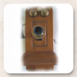 Vintage Telephone Coasters - Set of 6