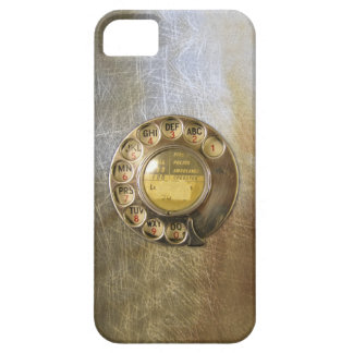 Vintage_Telephone_Dial 04 iPhone 5 Cases