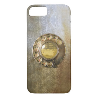 Vintage_Telephone_Dial 04 iPhone 7 Case