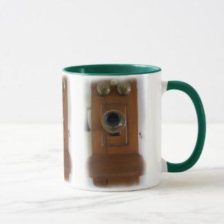 Vintage Telephone Mug