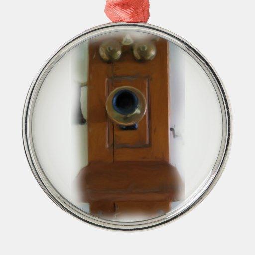 Vintage Telephone Ornament