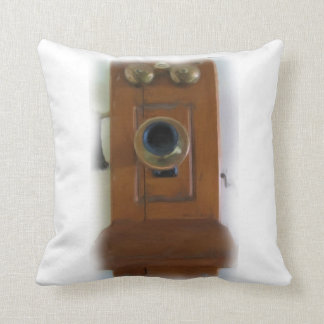 Vintage Telephone Pillow
