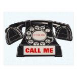 Vintage Telephone Real Estate Prospecting Postcard