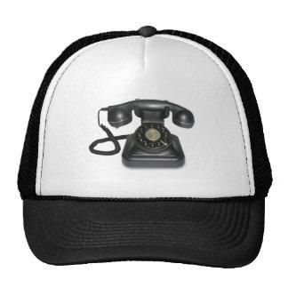 vintage telephone trucker hat