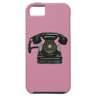 Vintage telephone vibe QPC iPhone 5 case