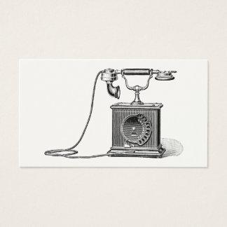 Vintage Telephones Illustration Phone Retro Phones Business Card