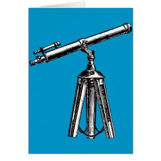 Vintage Telescope Card