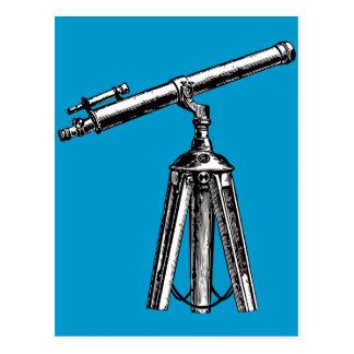 Vintage Telescope Postcard