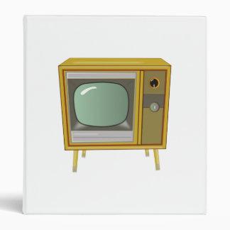 Vintage Television Vinyl Binders