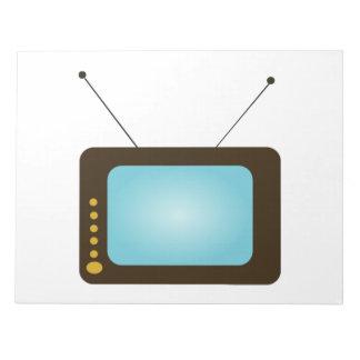 Vintage Television Memo Note Pad