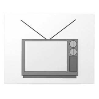 Vintage Television Memo Notepad