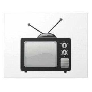 Vintage Television Memo Pad
