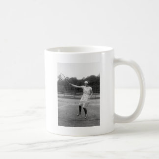 Vintage Tennis Outfit, 1920s Coffee Mugs