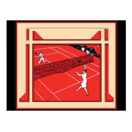 Vintage Tennis Postcard