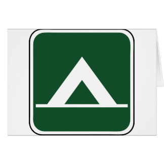 Vintage Tent Camp Sign Cards