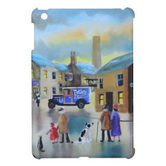 Vintage Tetley tea van street scene painting Case For The iPad Mini