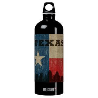 Vintage Texas Aluminum Water Bottle