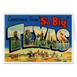 Vintage Texas Card