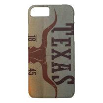 Vintage Texas Cowboy iPhone Case
