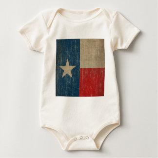 Vintage Texas Flag Baby Bodysuit