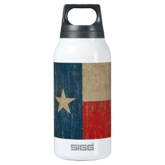 Vintage Texas Flag Insulated Water Bottle