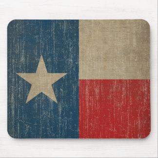 Vintage Texas Flag Mouse Pad